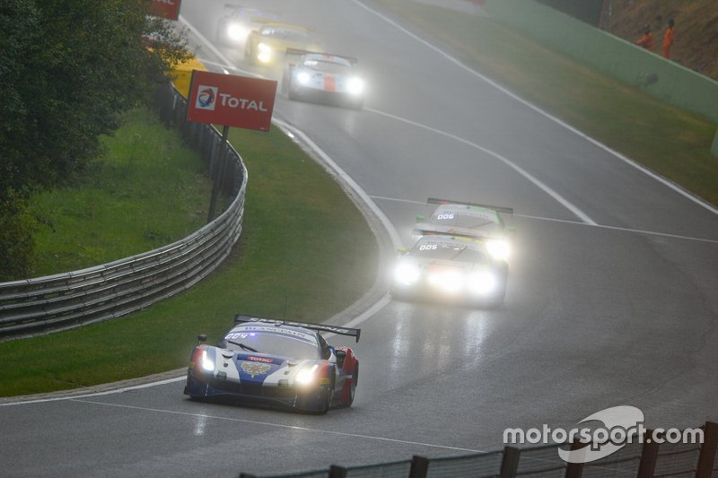 #72 SMP Racing Ferrari 488 GT3: Miguel Molina, Mikhail Aleshin, Davide Rigon