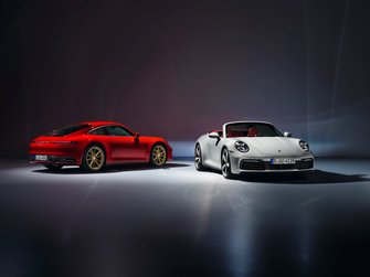 Porsche 911 Carrera and 911 Carrera Cabriolet