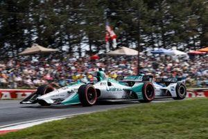 Marco Andretti, Andretti Herta with Marco & Curb-Agajanian Honda, Graham Rahal, Rahal Letterman Lanigan Racing Honda