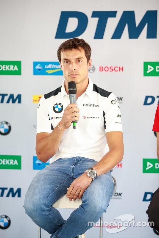 Persconferentie, Bruno Spengler, BMW Team RMG