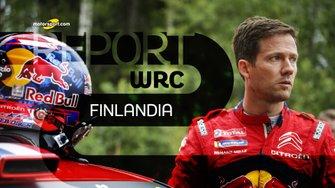Copertina Motorsport Report, Rally Finlandia