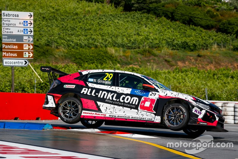 Néstor Girolami, ALL-INKL.COM Münnich Motorsport Honda Civic Type R TCR