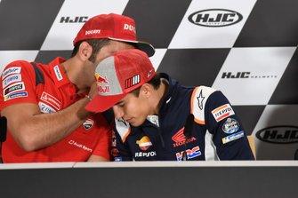 Danilo Petrucci, Ducati Team, Marc Marquez, Repsol Honda Team