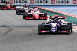 Нико Кари, Trident, Роберт Шварцман, PREMA Racing, и Леонардо Пульчини, Hitech Grand Prix