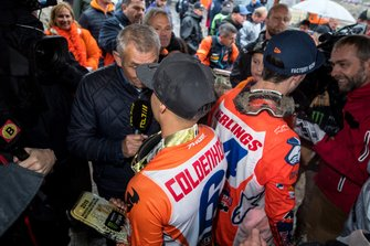 Jeffrey Herlings en Glenn Coldenhoff, TeamNL