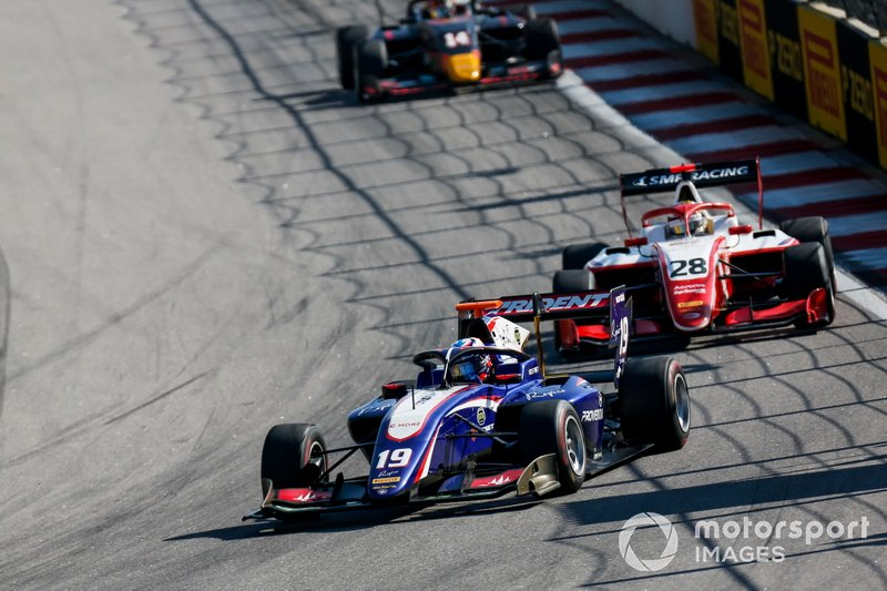 Niko Kari, Trident and Robert Shwartzman, PREMA Racing