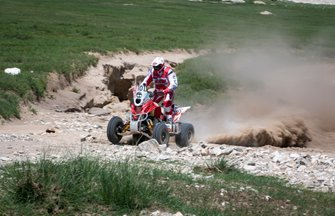 Rafal Sonik,, Sonik Team, Yamaha Raptor 700