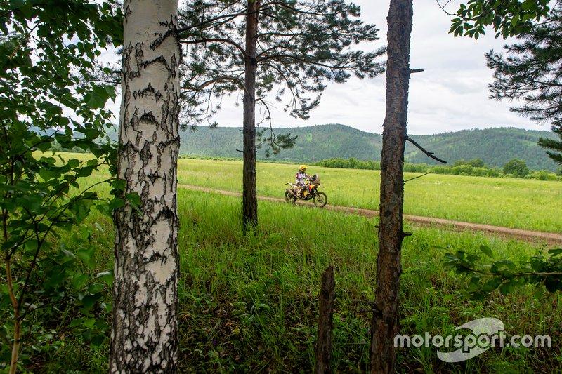 Maw Hunt, HT Rally Raid Husqvarna Racing, Husqvarna FE 450