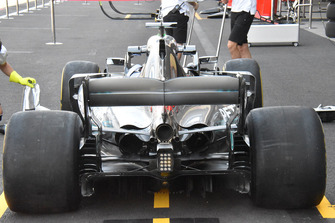 Mercedes-AMG F1 W09 detalle trasero