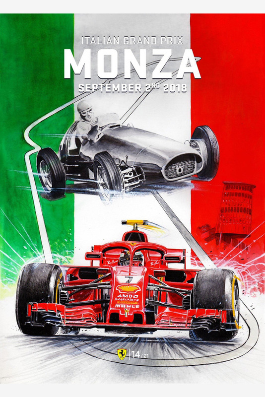 Постер Гран При Италии
