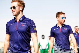 Sam Bird, Envision Virgin Racing, Robin Frijns, Envision Virgin Racing
