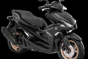 Yamaha Aerox 155 S-Version Matte Black
