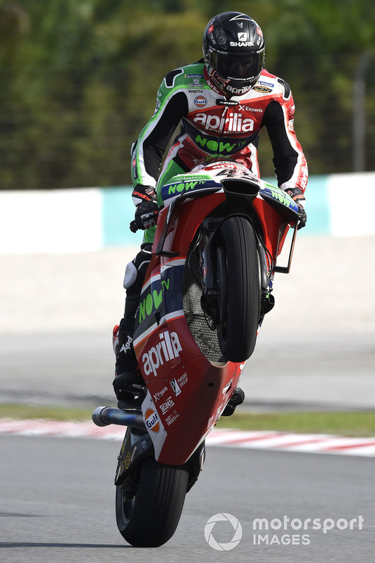 MotoGP Malaysia: Scott Redding, Aprilia Racing Team Gresini