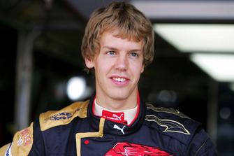Sebastian Vettel, Scuderia Toro Rosso inicios
