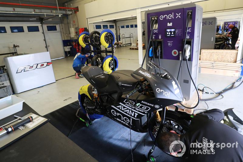 MotoE test, Jerez
