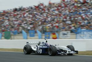 Juan-Pablo Montoya, BMW Williams FW24