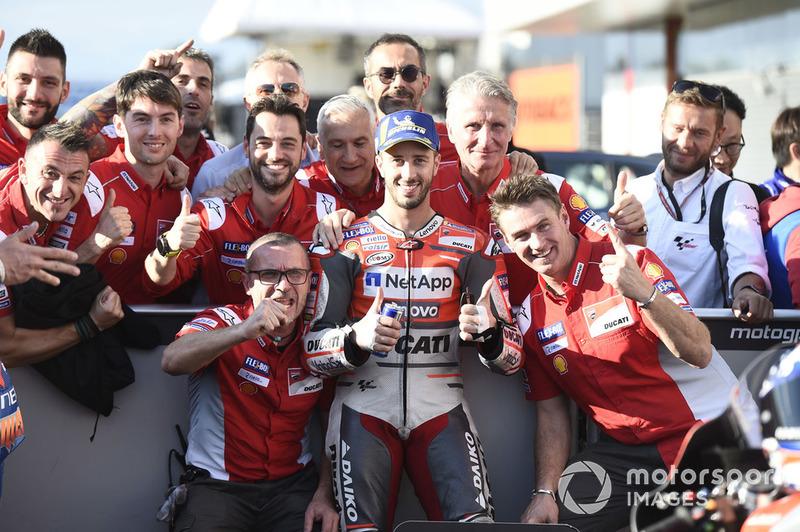 Peraih pole, Andrea Dovizioso, Ducati Team
