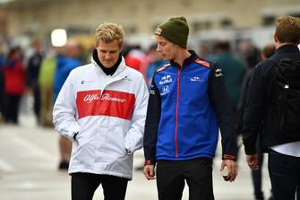 Marcus Ericsson, Alfa Romeo Sauber F1 Team et Brendon Hartley, Toro Rosso