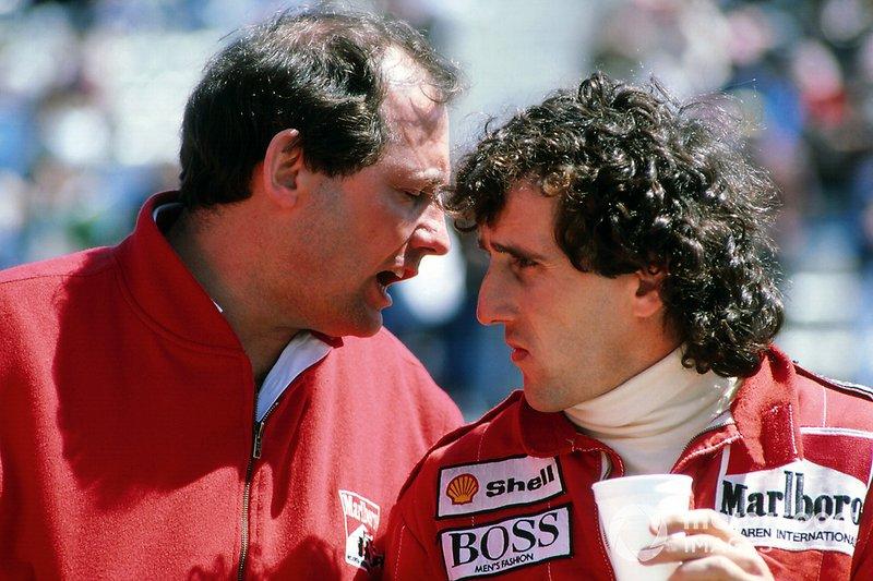 Ron Dennis, Director Ejecutivo de Mclaren, Alain Prost, McLaren
