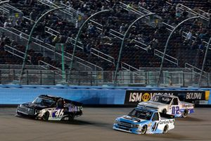 Christian Eckes, Kyle Busch Motorsports, Toyota Tundra Mobil 1, Ben Rhodes, ThorSport Racing, Ford F-150 The Carolina Nut Co.