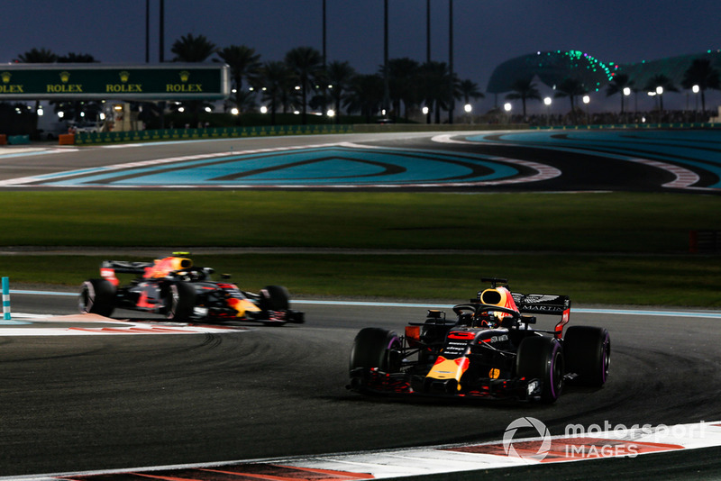 P4: Daniel Ricciardo, Red Bull Racing RB14
