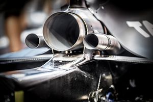 Red Bull Exhaust Detail