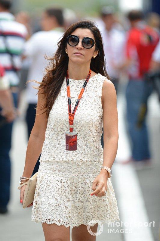 Fabiana Ecclestone, esposa de Bernie Ecclestone