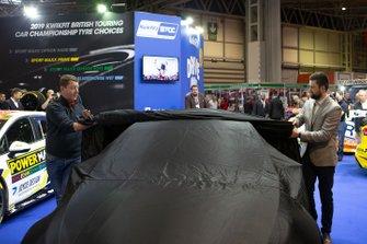 Dan Rowbottom launches his Mercedes BTCC car
