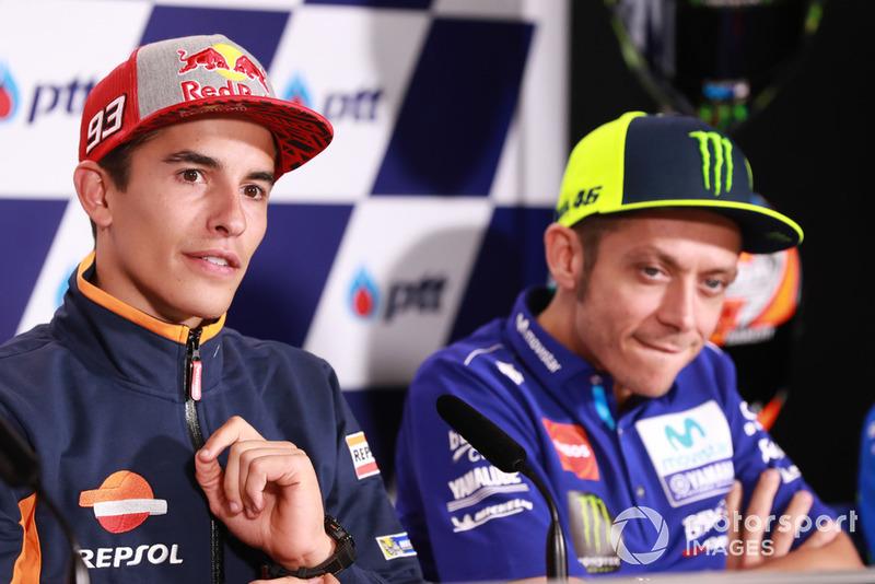 Marc Márquez, Repsol Honda Team, Valentino Rossi, Yamaha Factory Racing
