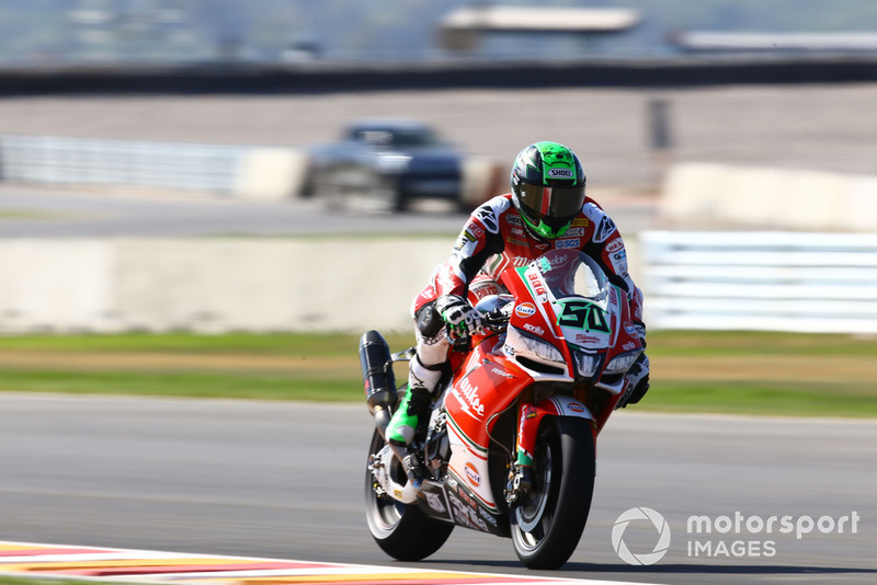 5e : Eugene Laverty (Milwaukee Aprilia)