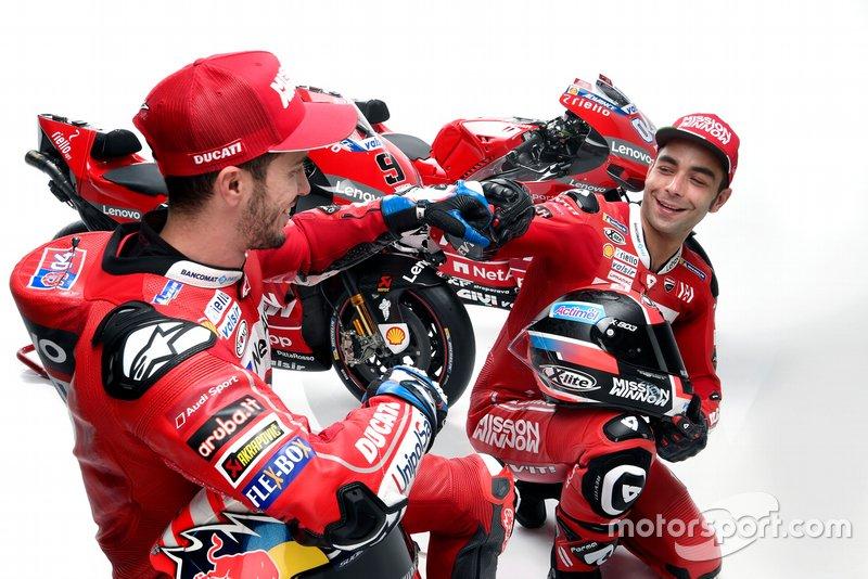 Andrea Dovizioso y Danilo Petrucci, Ducati Team