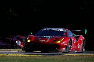 #63 Scuderia Corsa Ferrari 488 GT3, GTD: Cooper MacNeil, Gunnar Jeannette, Daniel Serra