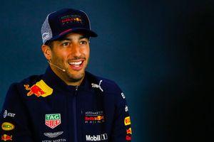 Daniel Ricciardo, Red Bull Racing en conférence de presse