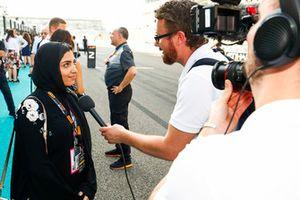 F4 driver Amna Al Qubaisi