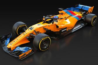 La livrée spéciale pour la dernière course de Fernando Alonso, McLaren MCL33