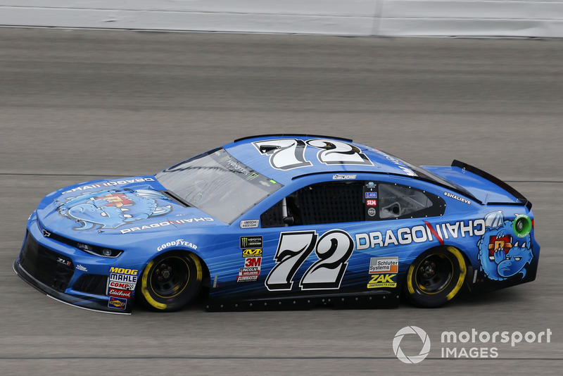 34. Corey LaJoie, TriStar Motorsports, Chevrolet Camaro Dragonchain