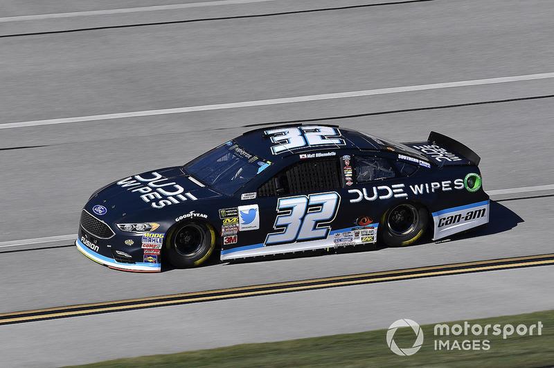 27. Matt DiBenedetto, Go FAS Racing, Ford Fusion Dude Wipes