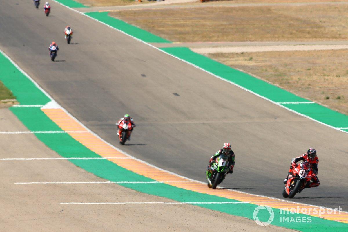 Scott Redding, Arubait Racing Ducati, Jonathan Rea, Kawasaki Racing Team, Chaz Davies, Arubait Racing Ducati