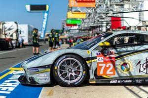 #72 Hub Auto Racing - Ferrari 488 GTE Evo: Morris Chen, Tom Blomqvist, Marcos Gomes