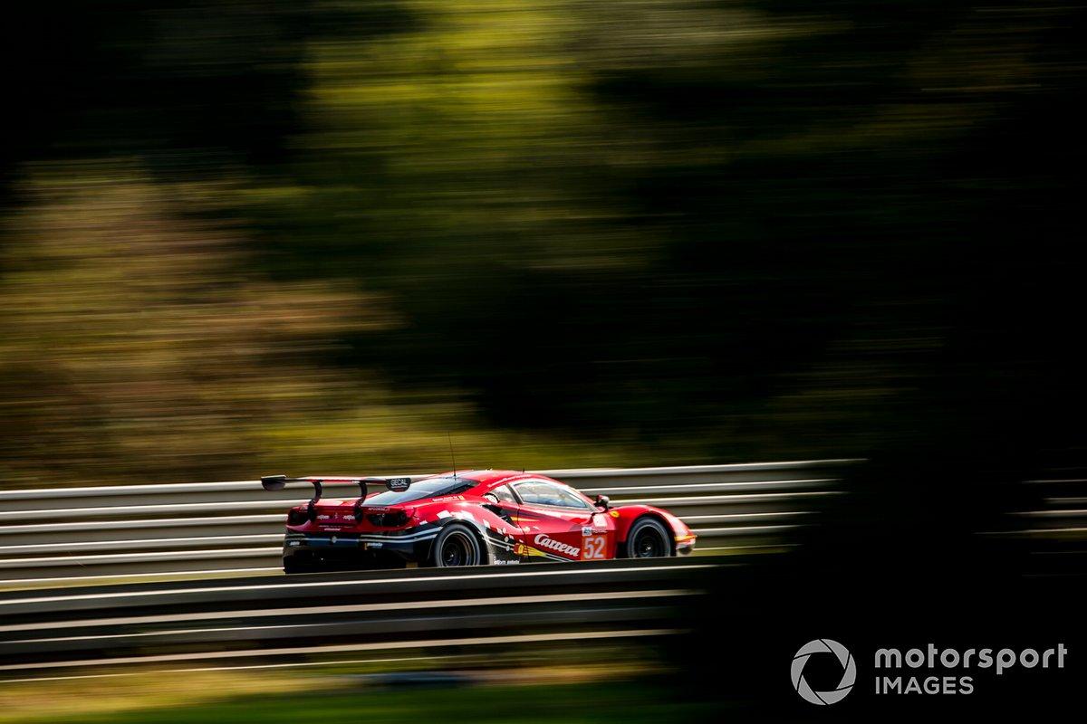 #52 AF Corse Ferrari 488 GTE Evo: Cristoph Ulrich, Steffen Gorig, Alexander West