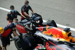 Red Bull Racing RB16 dettaglio dell'ala posteriore