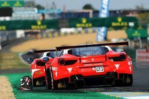 #67 Ferrari 488 GT3, KESSEL RACING, Murat Cuhadaroglu, Nicol Cadei