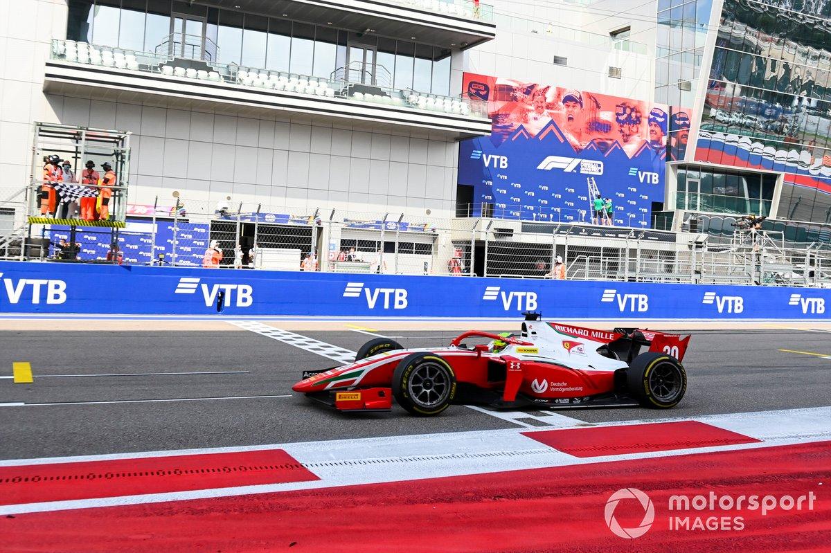 Mick Schumacher, Prema Racing taglia la linea del traguardo