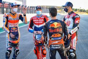 Alex Marquez, Repsol Honda Team, Stefan Bradl, Repsol Honda Team, Takaaki Nakagami, Team LCR Honda, Dani Pedrosa, Red Bull KTM Factory Racing