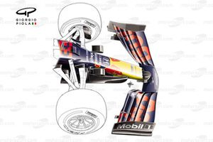 Red Bull Racing RB16 new front wing
