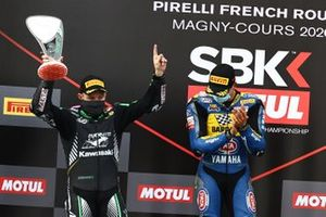 1. Andrea Locatelli, BARDAHL Evan Bros. WorldSSP Team, 2. Lucas Mahias, Kawasaki Puccetti Racing