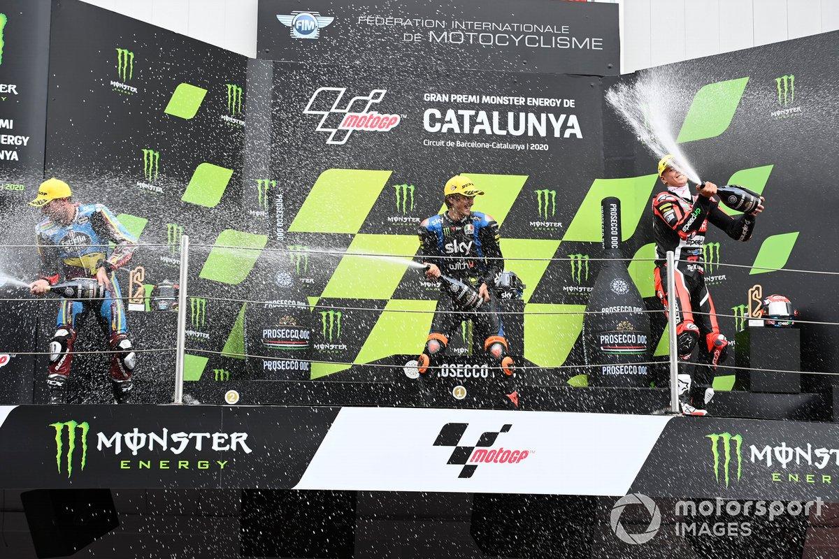 Sam Lowes, Marc VDS Racing, Luca Marini, Sky Racing Team VR46, Fabio Di Giannantonio, Speed Up Racing