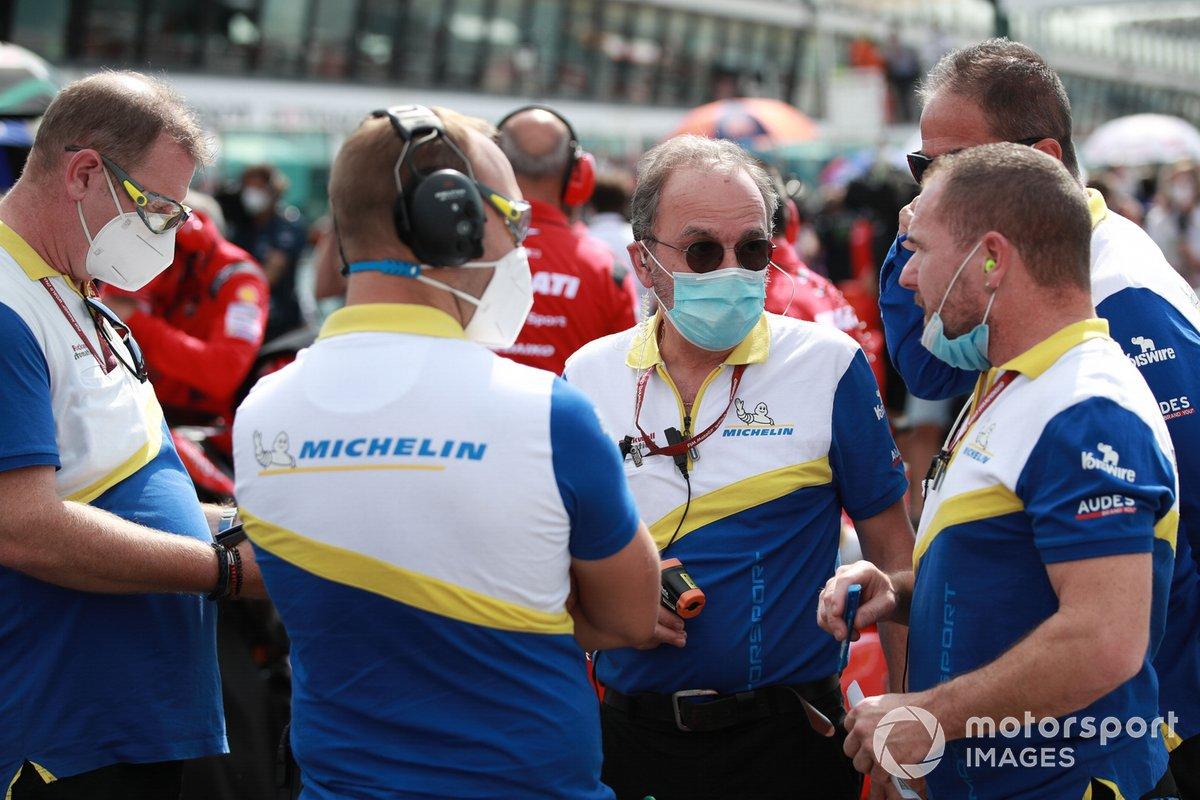 I tecnici della Michelin