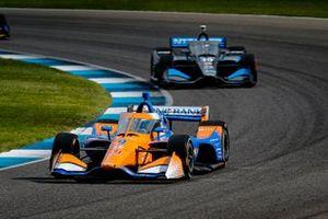 Scott Dixon, Chip Ganassi Racing Honda, Felix Rosenqvist, Chip Ganassi Racing Honda