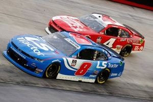 Jeb Burton, JR Motorsports, Chevrolet Camaro LS Tractor and Jesse Little, JD Motorsports, Chevrolet Camaro JD Motorsports